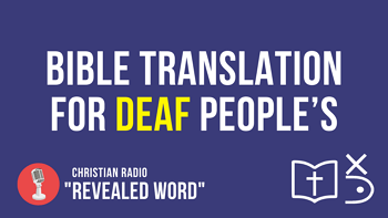 Bible translation for Deaf people's